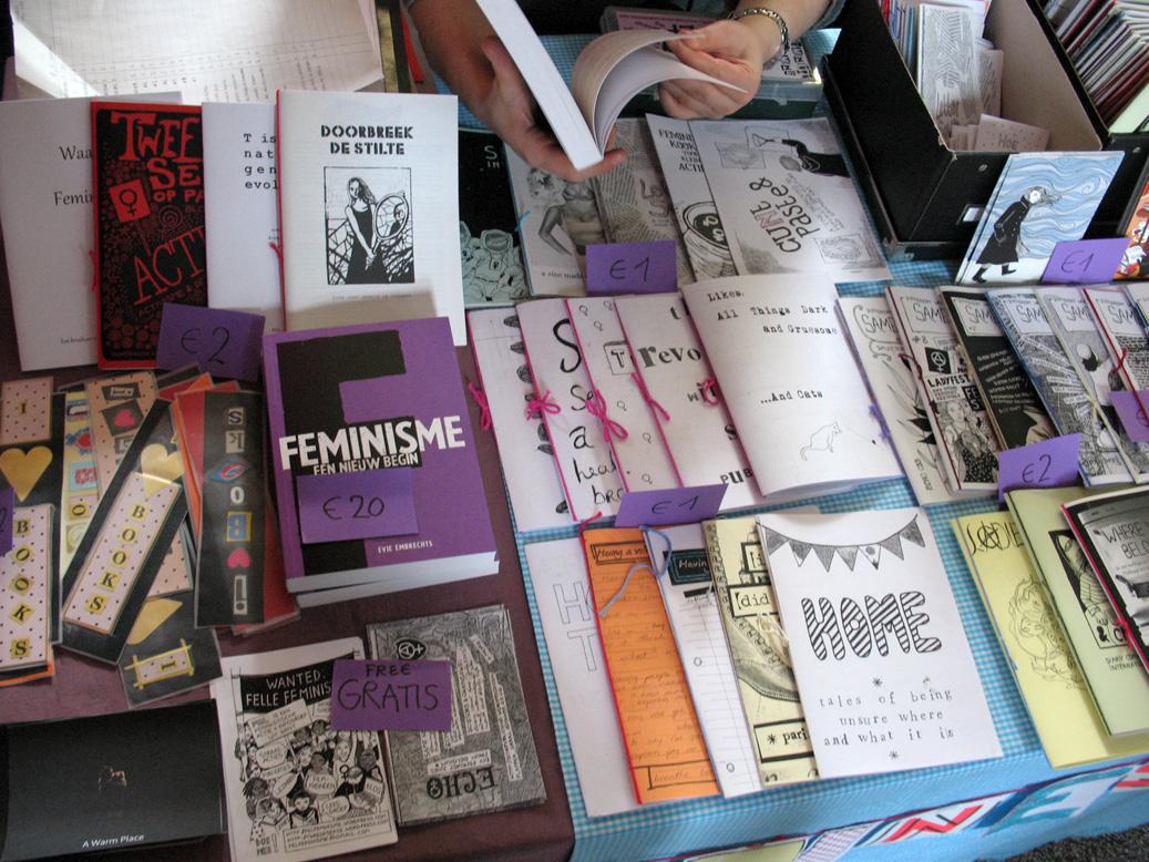 Photo Report Zine Happening Ii Diy Feminist Zines Comix